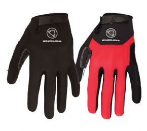 Endura Singletrack Plus Gloves - Heavily padded glove with 4-way breathable stretch mesh backhand