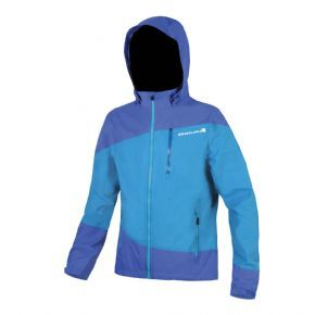 Endura Singletrack Waterproof Jacket Blue - One more reason to go ride in the rain!
