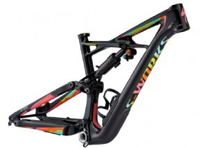 Specialized S-works Enduro 650b Mountain Bike Frame Jawbreaker Ltd Edition  2017 - Truly feel glued to the ground and the platform is more responsive and capable then ever.