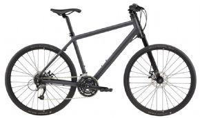 Cannondale Bad Boy 4 Urban Bike  - The Bad Boy's stealth-fighter looks and street-fighter performance make it a fast stylish