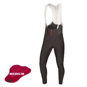 Endura Pro Sl Biblong Tights (medium Pad) - 4-way high stretch Windproof breathable fabric with DWR finish front and seat panels