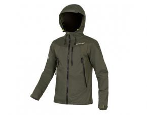Endura Mt500 Jacket 2 Khaki - Fully seam sealed exceptionally breathable ExoShell60 3-Layer waterproof fabric