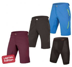 Endura Singletrack Lite Short 2 With Liner 2018 - Fast and light trail short in a super-comfortable full 4-way stretch fabric