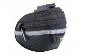 Topeak Wedge Bag 2 Micro  2021 - Large dual side opening molded panels provide easy access to a complete 17 piece tool kit