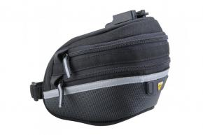 Topeak Wedge Bag 2 Large  2021 - Large dual side opening molded panels provide easy access to a complete 17 piece tool kit