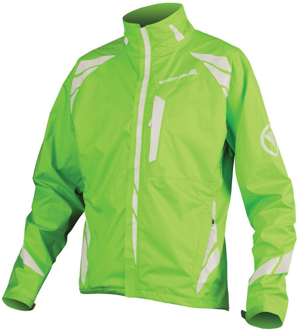 Endura Luminite 2 Waterproof Jacket Hi-viz Green